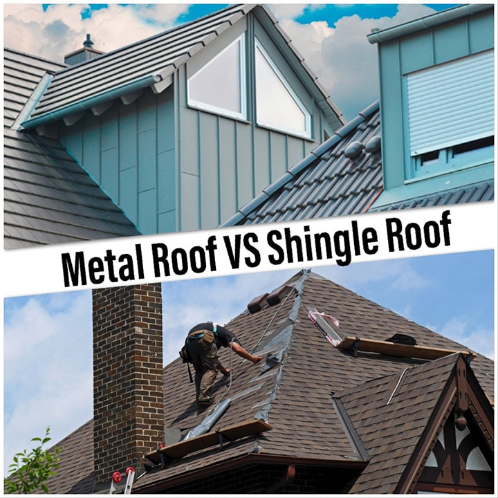 Types of Roofs: Asphalt Shingle Roofs or Metal Roofs? [Pros